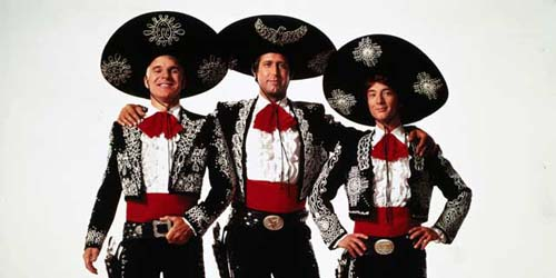 three amigos, chevy chase,