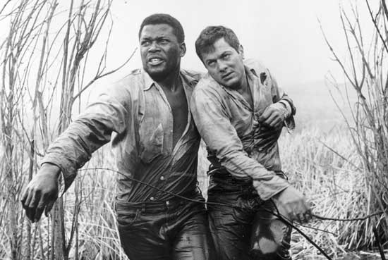 tony curtis, the defiant ones, sidney poitier,