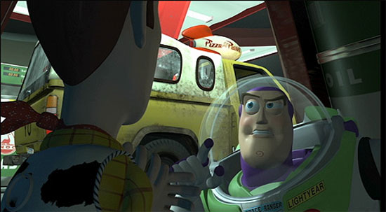 Toy Story 1, Pixar animation,
