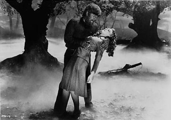 the wolf man, film, 1941, werewolf,