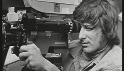 a young spielberg on set of Duel