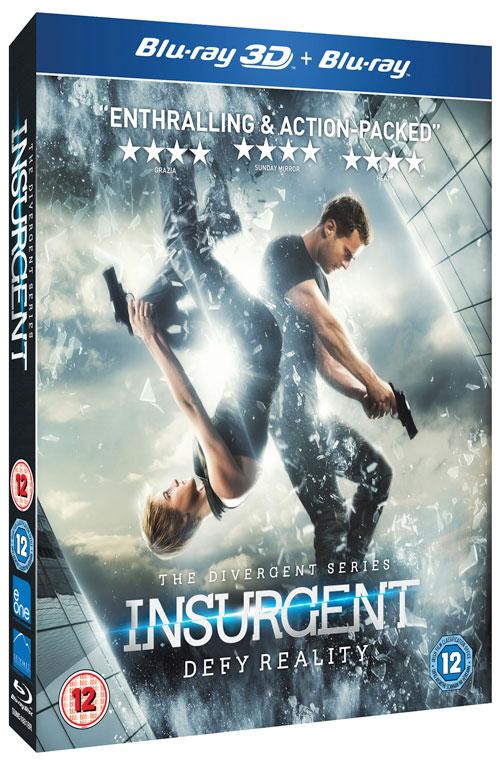 Insurgent Blu-ray - Top 10 Films