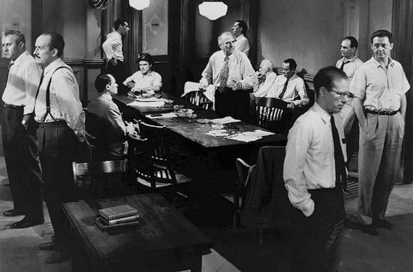Henry Fonda in Sidney Lumet's 12 Angry Men