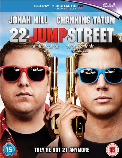 22 Jump Street, UK Blu-ray
