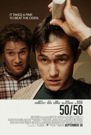 50 50, joesph gordon levitt, seth rogen, film,