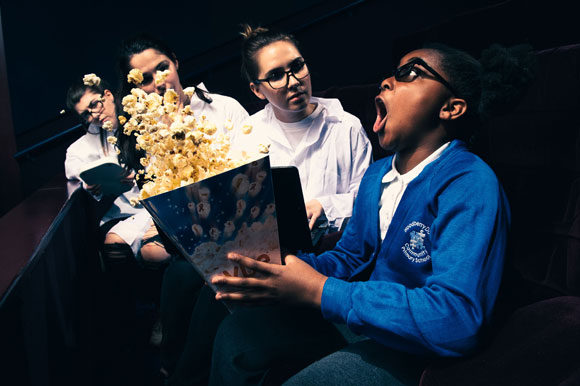 A Trip To The Cinema Can Boost A Child's Psychological Development