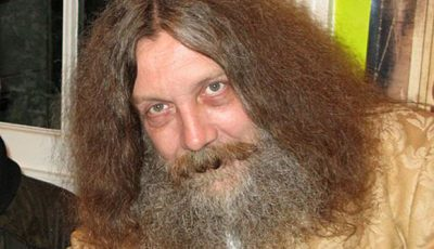 Alan Moore - creator of Watchmen and V for Vendetta