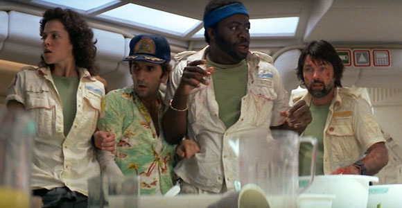 Alien, Dinner Table Scene, Kane (John Hurt) - Top 10 Films
