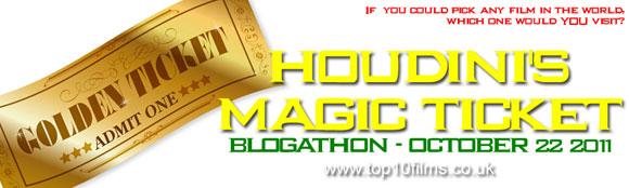 houdini's magic ticket, last action hero, top 10 films blogathon,