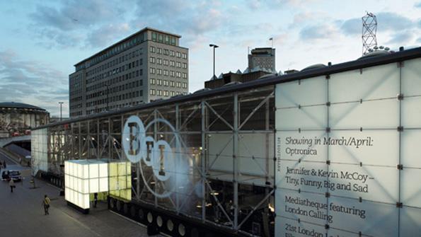 BFI - Exterior, London - Top 10 Films