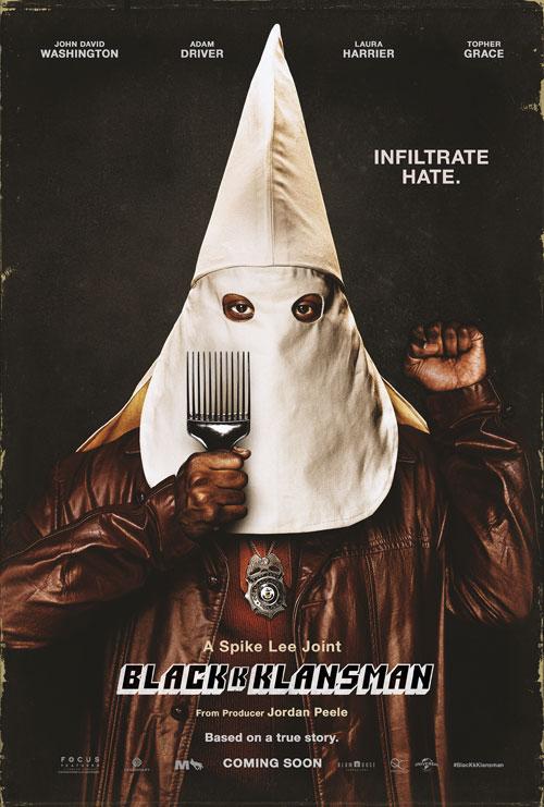 Blackkklansman - film poster