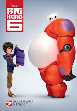 Big Hero 6, Disney, Top 10 Films,