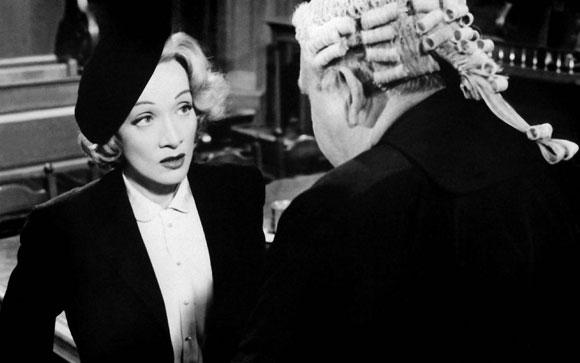 Witness for the Prosecution, Marlene Dietrich, Billy Wilder,