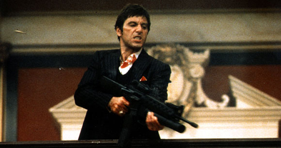 Scarface, Brian De Palma, Top 10 Films,