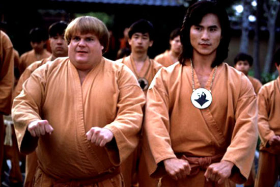 chris farley, beverly hills ninja, comedy, film,