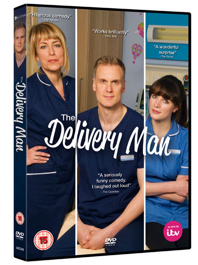 The Delivery Man, UK DVD,