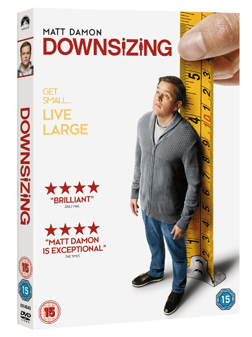 Downsizing - Alexander Payne - UK DVD