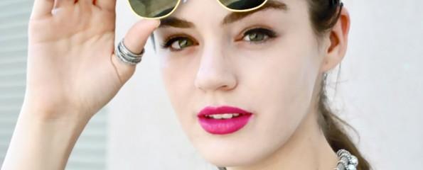 Actress Dana Melanie is interviewed by Top 10 Films editor Daniel Stephens