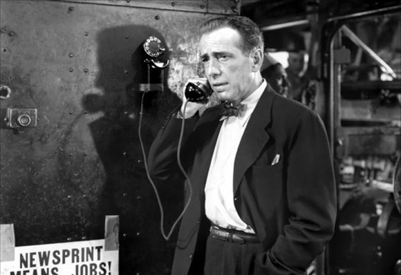 deadline, film, humphrey bogart, journalism, newspapers, reporters,