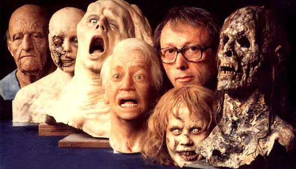 Dick Smith with some of his greatest creations