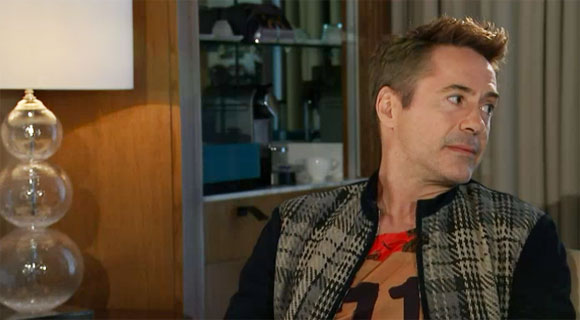Robert Downey Jr storms out of interview about Avengers Age of Ultron, Channel 4,
