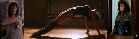 Flashdance, 1980s Fashion in Film