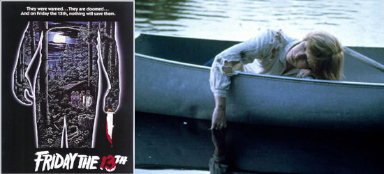 Friday the 13th, Film, Original, poster/image, part 1