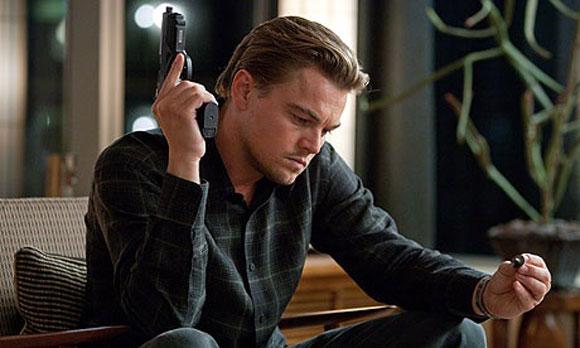 Leonardo DiCaprio stars in Inception