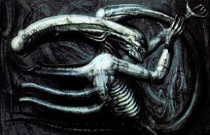 Necronom IV, Giger's design that inspired the Alien creation