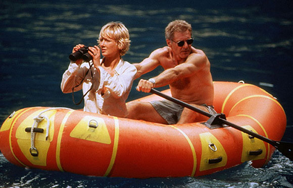 Harrison Ford, Plane Crash, Six Days Seven Nights, Top 10 Films,