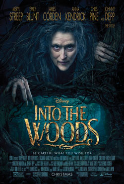 Into The Woods, Meryl Streep, Film poster,