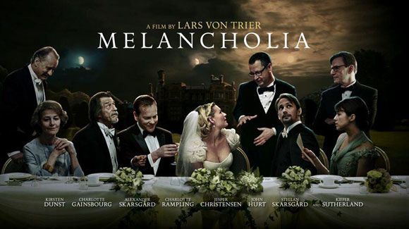 "Movie Posters 2011: ""Melancholia"" Is No Friend To Man"