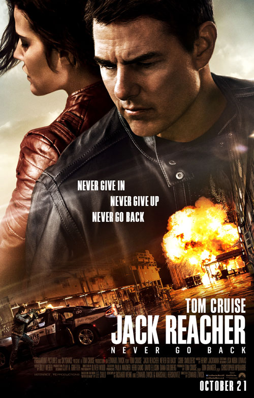 "Tom Cruise Will ""Never Go Back"" As Jack Reacher 2 Closes On October 21 Release"