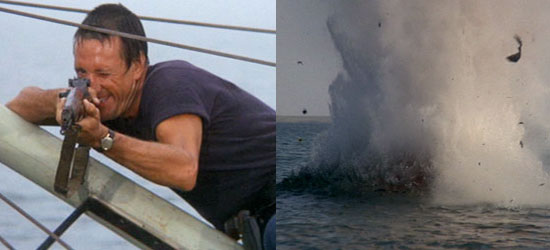 steven spielberg, jaws, smile you son of a bitch, jaws ending