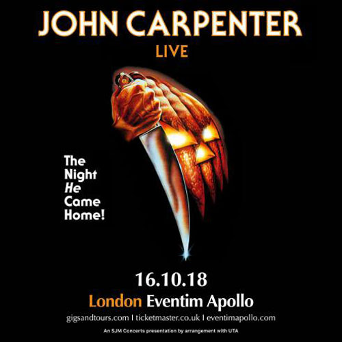 John Carpenter Live