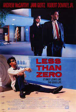 "Cautionary Tales: Remembering ""Less Than Zero"""