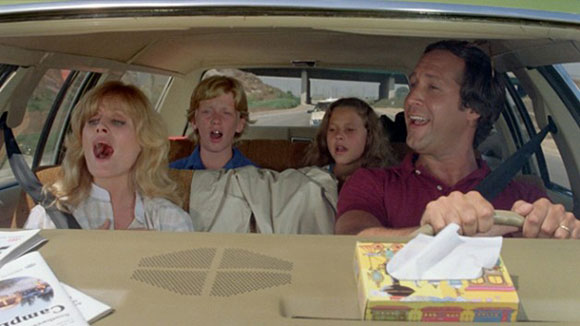 Chevy Chase, Top 10 Films, John Hughes, National lampoon's Vacation,