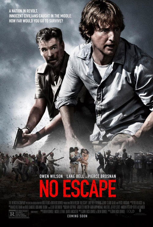 No Escape, Owen Wilson, Film Poster