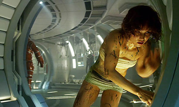 Noomi Rapace, Ridley Scott, Prometheus, Top 10 Films