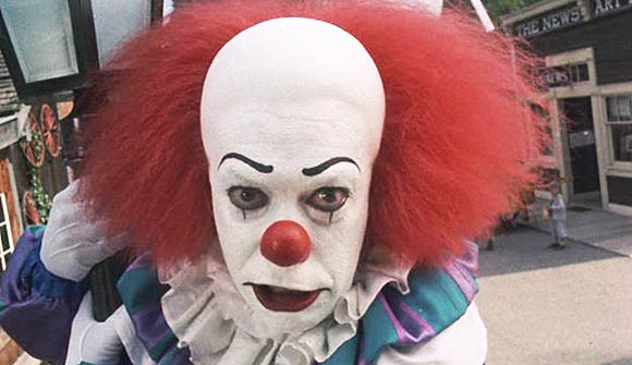 Pennywise, Best Clowns, Scariest Clowns, Top 10 Clown Films,