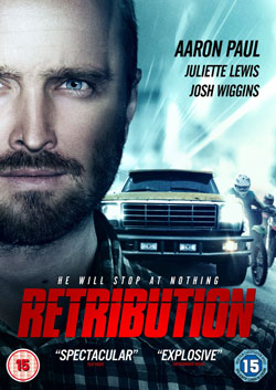 Retribution, DVD, Aaron Paul