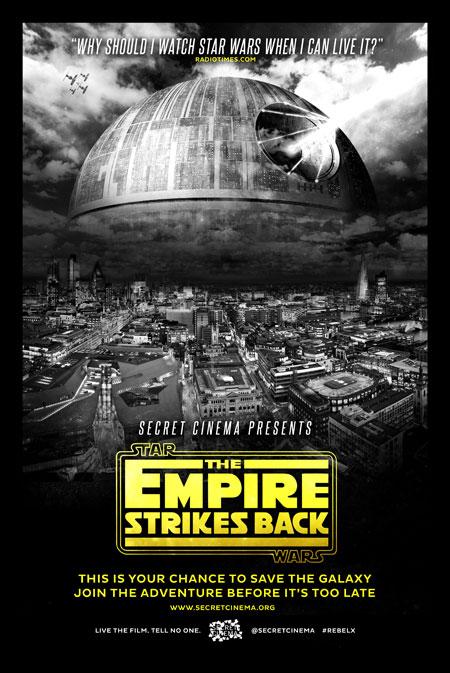 Secret Cinema, Empire Strikes Back,