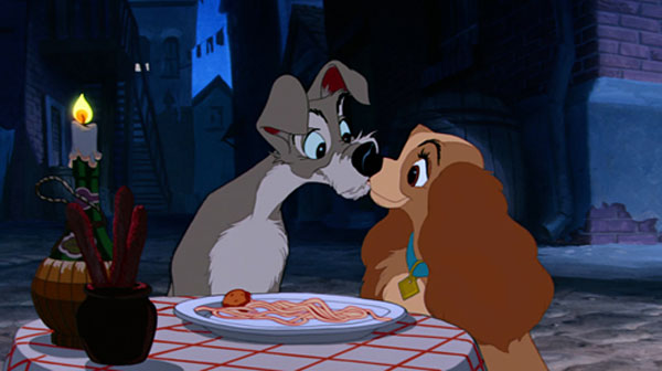 Spaghetti-Kiss-Lady-and-the-Tramp