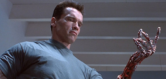 The Terminator, T2, Judgment Day, Arnold Schwarzenegger,