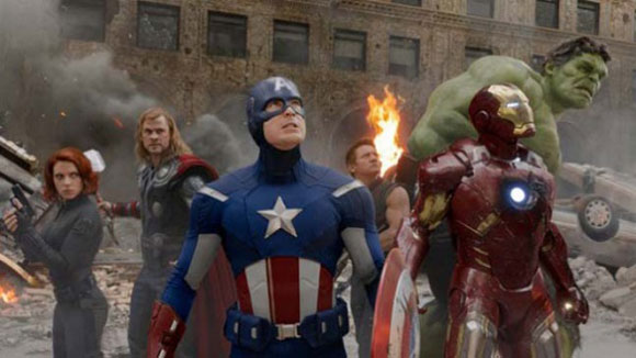 The Avengers, Top 10 Films,