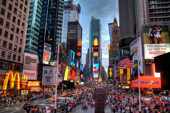 Times Square, Film