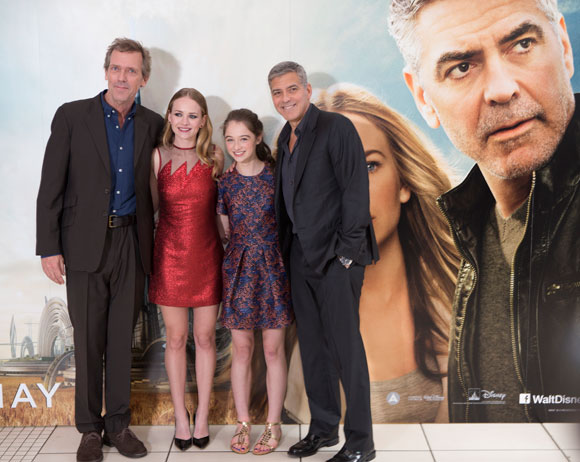 Tomorrowland European Premier in London featuring George Clooney and Brad Bird