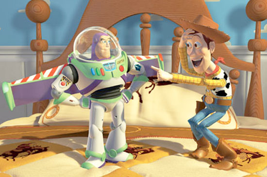 Toy Story 2, Film, Pixar animation