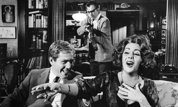 Who's Afraid of Virginia Woolfe, Mike Nichols, Elizabeth Taylor, Richard Burton,