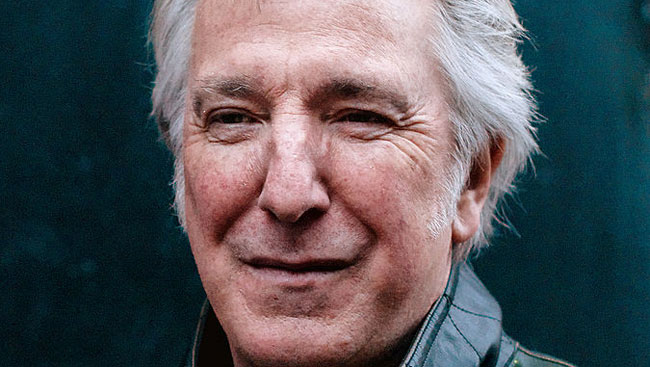 Diaries of Alan Rickman to be published as a book